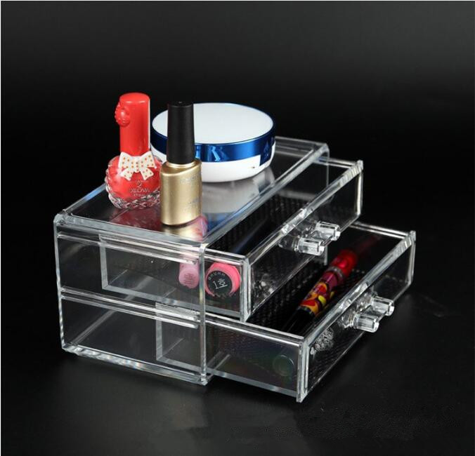 Makeup Storage <font><b>Drawers</b></font> <font><b>Acrylic</b></font> Makeup Storage Box 1pc Cosmetic <font><b>Organizer</b></font> image