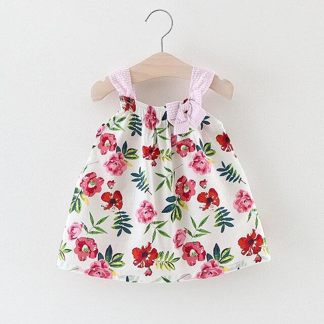 9bf5157f7f6e Belababy Girls Dress 2017 Summer Cute Style Baby Girl Clothes Sleeveless  Cartoon Bunny Print Dress Sundress