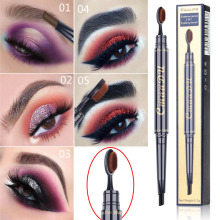 Toothbrush Head Eyebrow Pencil multi-function Waterproof Double PencilTattoo Black Brown