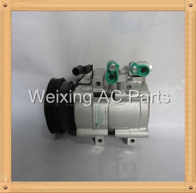 Auto ac compressor for Hyundai Trajet 2.0 Sonata 2.0 2.4 97701-3A580 97701-3A581 97701-26010 97701-3A570 97701-3E400 97701-26011