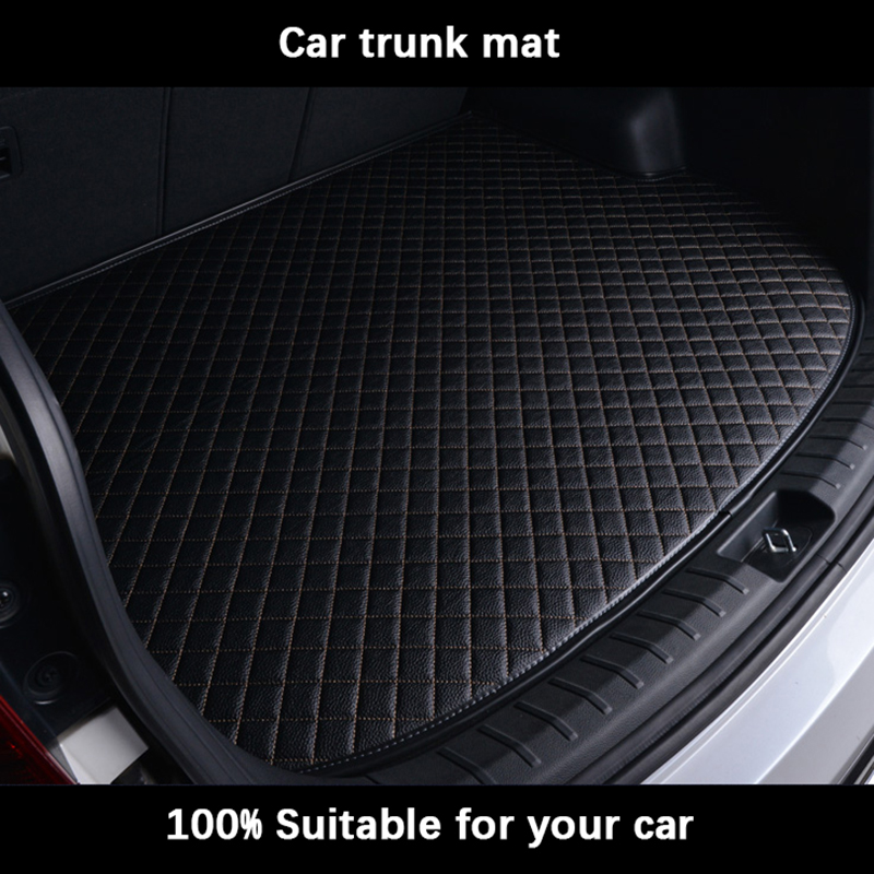 Car Trunk Mats For BMW All Models E30 E34 E36 E39 E46 E60 E90 F10 F30 X3 X5 X6 Car Accessories Car Styling Custom Cargo Liner