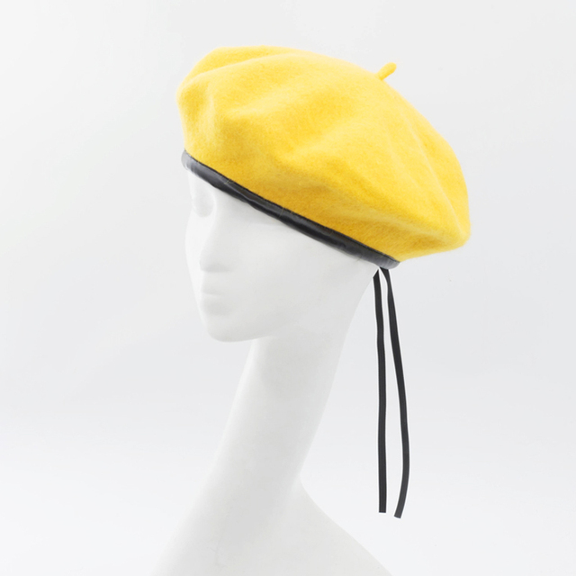 Beret Women Winter Hat...