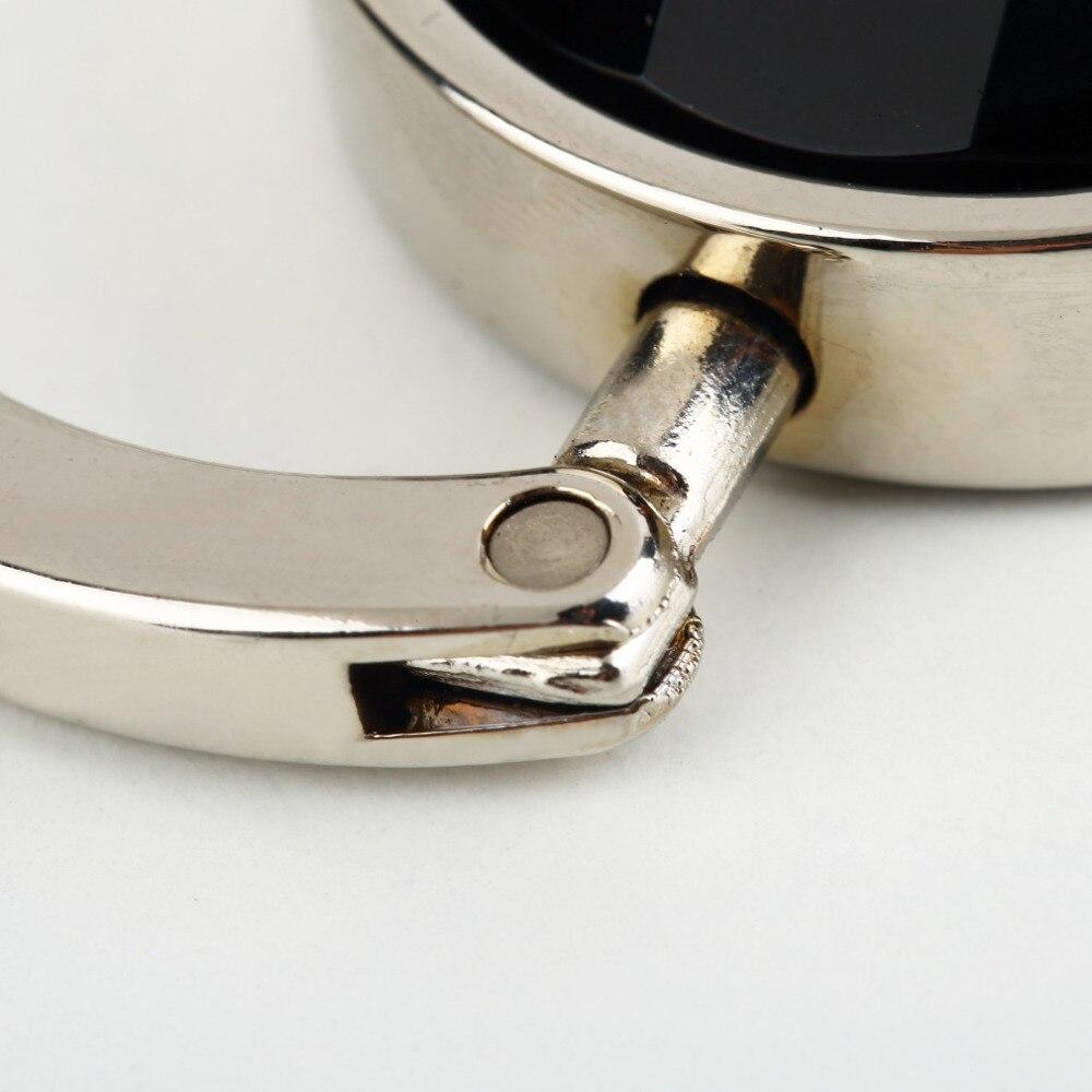По всему миру женский Кошелек складной горный хрусталь Кристалл Сплав сумка вешалка крюк держатель портативный