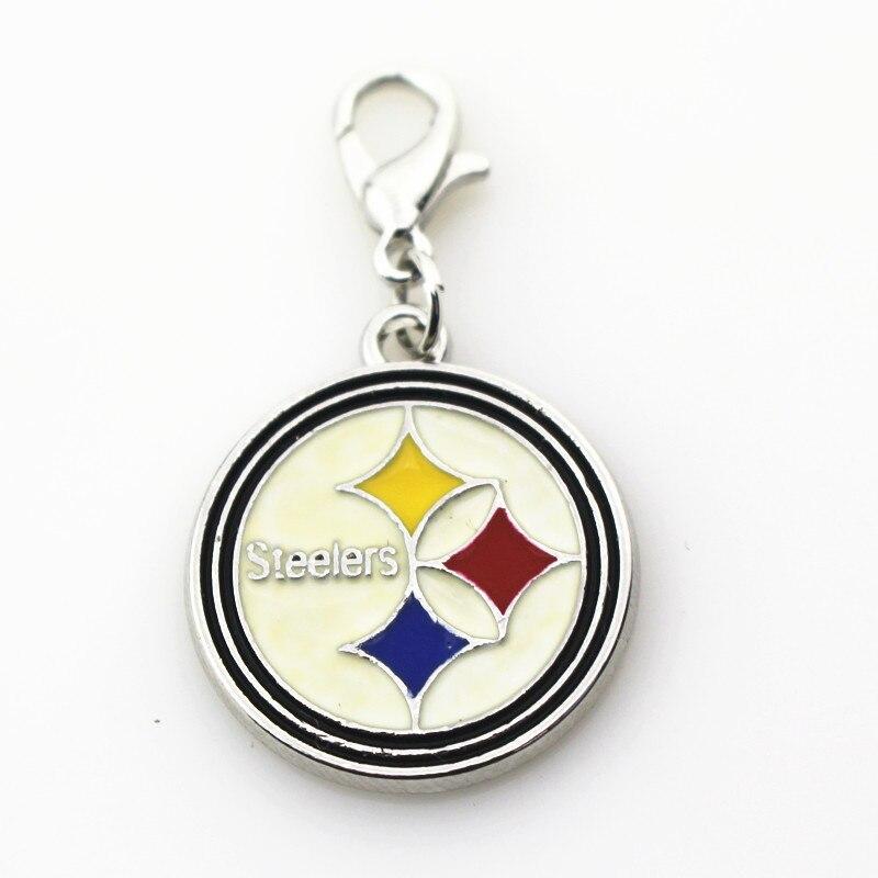 ღ Ƹ̵̡Ӝ̵̨̄Ʒ ღ20 unids/lote Pittsburgh Steelers cuelgan los encantos ...