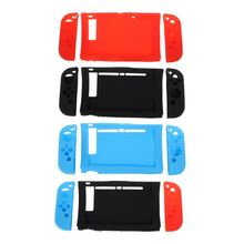Silicone Protective Case Left Right Dustproof Shockproof Shell Game Accessories for Nintend Switch NS Joy-Con Console Controller protective case crystal cover shell shockproof back clear ultra thin transparent for nintendo switch ns game console controller