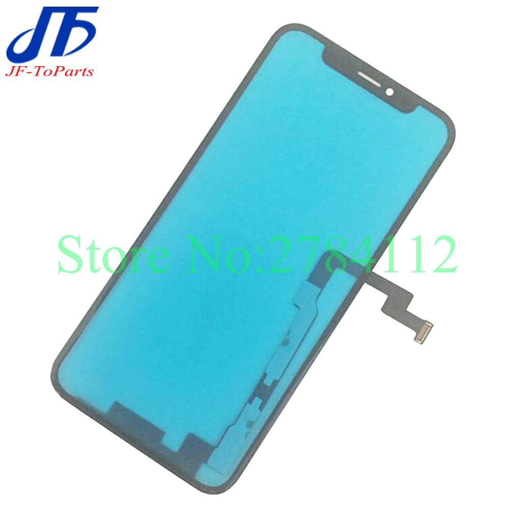 10Pcs Pre tested For Apple For iPhone X No Welding Touch Screen Digitizer 5 8 Front