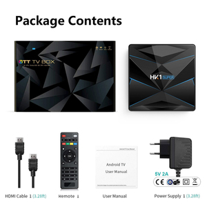 Image 2 - HK1 Super Android 9.0 TV BOX Google Assistant RK3318 4K 3D Utral 4G 64G TV Wifi Play Store Free Apps Fast Set top Box