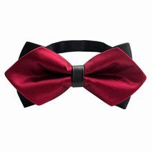 Коммерческих Для мужчин лук галстук бренда 11,5x5,5 см с бантом для Для мужчин аксессуары свадебные галстуки Gravata галстук вечерние галстуки
