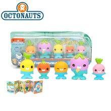 Nowy 5 Pack 4.5 6cm Octonauts zabawki Vegimals pcv figurka Octonauts akcesoria zaopatrzenie firm konik morski rozgwiazda Sailfish