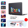 Hot Sell animation Case For Apple Macbook Air Pro Retina 11 12 13 15 Laptop sleeve Cover Bag For Mac book 11.6 13.3 15.4 inch