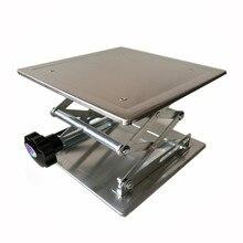 100x100x150mm алюминиевый лифт маршрутизатор стол деревообработка лаборатории гравировка подъема стойки стенд