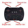 Mini R6 Russsian 2.4G Teclado Inalámbrico Fly Air Ratón Del teclado Touchpad Para Android Smart TV Caja de Escritorio Del Ordenador Portátil Mini PC