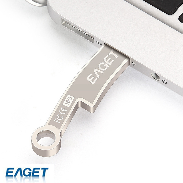 EAGET K60 16 GB 16G pen drive usb 3.0 flash drives Regalo pendrive memory stick usb 3.0 de metal A Prueba de agua moda antigua cuchillos