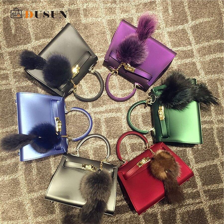 DUSUN Brand Women Messenger Bags Luxury Handbags Women Bags Designer Jelly Bag F