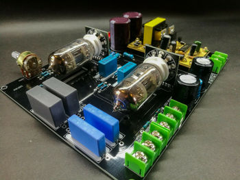 DIYERZONE DC12V 6N4(12AX7) Tube Preamp Board Base On Matisse Fantasy Line Stage L14-16