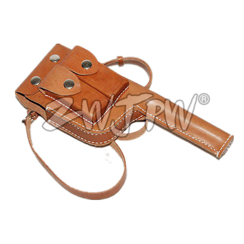 Chinese Mauser C96 Broomhandle Leather Holster พร้อม SlingCN / 103113