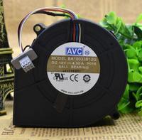 Avc 9733 4.5a ba10033b12g 12 فولت أربعة خط عالية السرعة توربينات الرياح منفاخ كبير مروحة