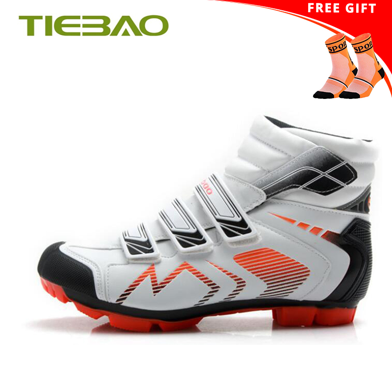 TIEBAO Winter cycling shoes sapatilha ciclismo mtb 2019 Outdoor Sports Shoes self-locking SPD Mountain Bike zapatillas hombreTIEBAO Winter cycling shoes sapatilha ciclismo mtb 2019 Outdoor Sports Shoes self-locking SPD Mountain Bike zapatillas hombre