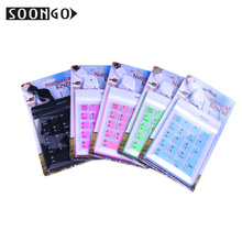 Mini Wired Numerical Silicone Keypad Number Pad 19 keys Slim Foldable Flexible Teclado Soft Portable Roll-up PC Ipad Laptop New