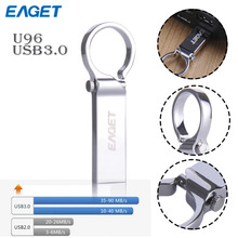 EAGET Original U96 Metal usb 3.0 usb flash drive 16GB 32GB 64GB waterproof pen drive 64gb pendrive U disk creative personality