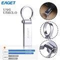 Eaget u96 original de metal usb 3.0 flash drive usb 16 gb 32 GB 64 GB pen drive 64 gb pendrive U disco criativo à prova d' água personalidade