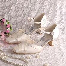 Wedopusที่กำหนดเองจัดงานแต่งงานที่ทำด้วยมือรองเท้าแตะผู้หญิงแควส้นรองเท้าขนาดบวก