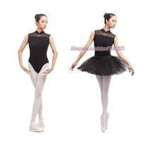 Black Color Ballet Leotard For Young Girls 2016 New Sexy Lace Elastic Ballet Practice Clothing Adult