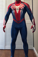 PS4 INSOMNIAC Spider man Costume Suit 3D Print Spandex Games Cosplay Spiderman Halloween Costume For Adult/Kids
