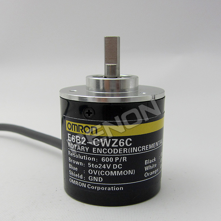Spot supply of new 600P/R OMRON OMRON E6B2-CWZ6C rotary encoder, sensor omron encoder 1000p r e6b2 cwz6c pulse photoelectric incremental rotary encoder