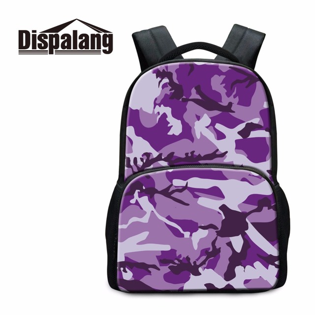 Dispalang Women s Travel Shoulders Bags Stylish Laptop Backpacks For Girls  Children Camouflage School Bags Unisex Daily b37c4b7a34e6d
