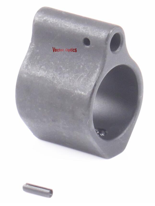 Vector Optics Steel Low Profile Micro .223 5.56 Gasblokkeervatting - Jacht - Foto 2