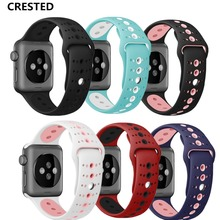 Sport Strap For Apple Watch Band apple watch 5 4 3 band 42mm 38mm 44mm/40mm  IWatch 5 4 3 2 1 correa Bracelet  watchband Belt цена и фото
