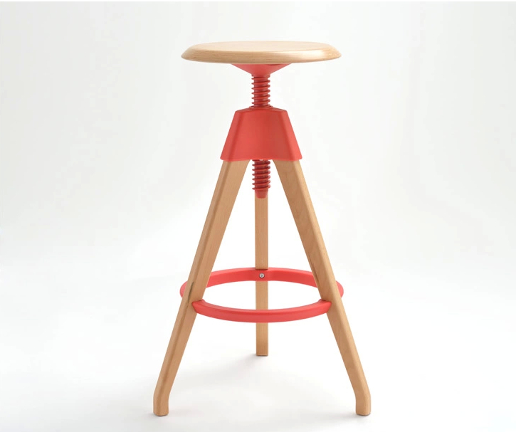 Barber Nordic pop  Stool Coffee Stool red white black color free shipping iclebo pop