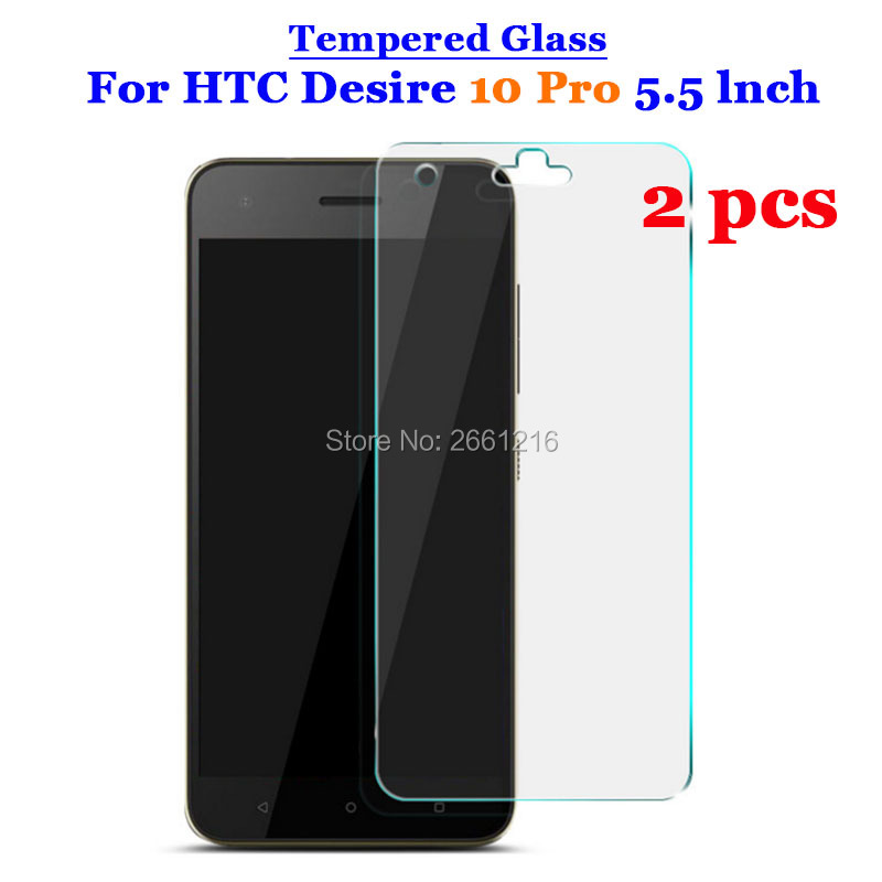 2 Pcs/Lot For HTC 10 Pro Tempered Glass 9H 2.5D Premium Screen Protector Film For HTC Desire 10 Pro D10 Pro 5.52 Pcs/Lot For HTC 10 Pro Tempered Glass 9H 2.5D Premium Screen Protector Film For HTC Desire 10 Pro D10 Pro 5.5