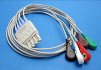 Compatible M1602A ECG Lead Wires Set Use for Philips M1668A ECG Trunk Cable