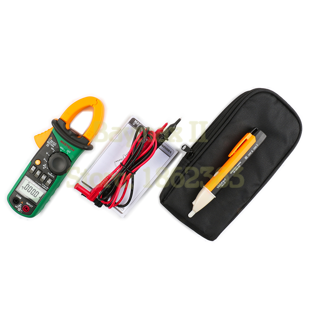 Bettwäsche Ac Dc Mastech Ms2108a Digital Clamp Meter Multimeter Ac Dc Current Voltage Tester With 90 1000v Ac Voltgae