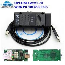 Novo opcom v1.99 firmware v1.70 1.78 1.95 opcom 1.99 a qualidade OP-COM 1.70 para op-el diagnóstico-ferramenta op com com pic18f458 ftdi