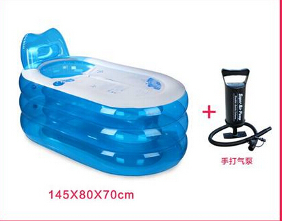 Vasca Da Bagno Gonfiabile Per Adulti : Gli adulti gonfiabile vasca da bagno vasca di plastica per adulti
