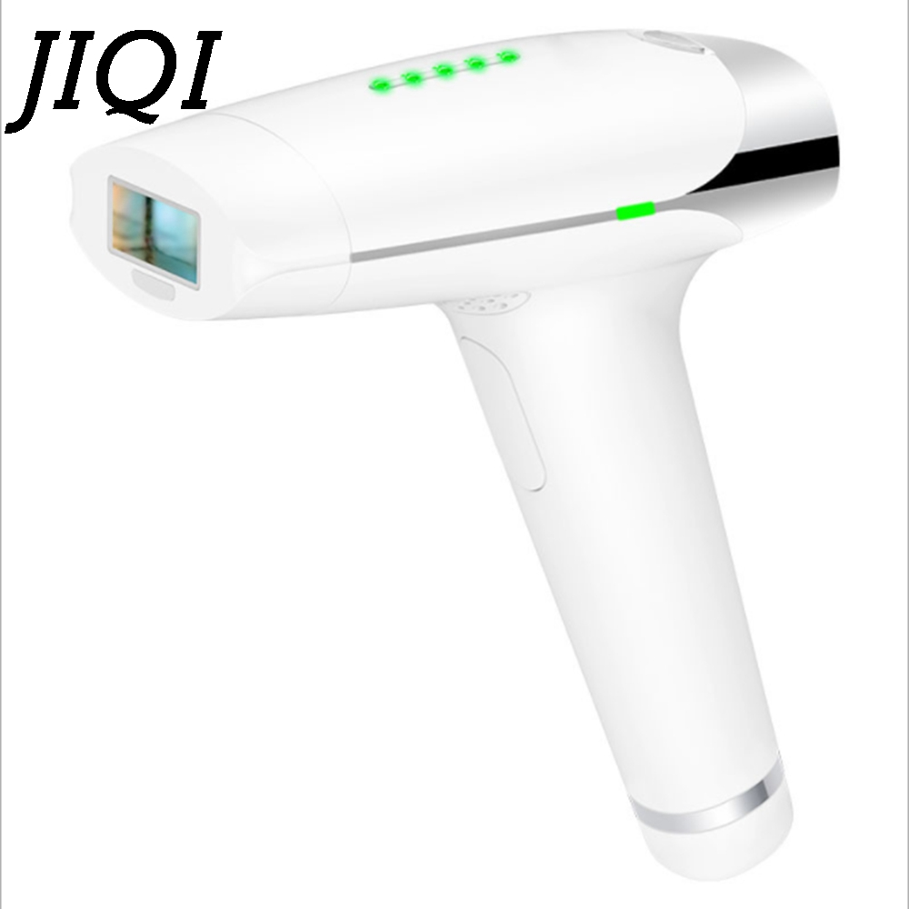 JIQI 2In1 IPL Laser Hair Removal Machine Epilator Lady Body Shaver Permanent Bikini Female Trimmer Electric Depilador 110V 220V fry s store body hair removal epilator electric shaver depilador sensitive precision beauty styler bikini trimmer for lady