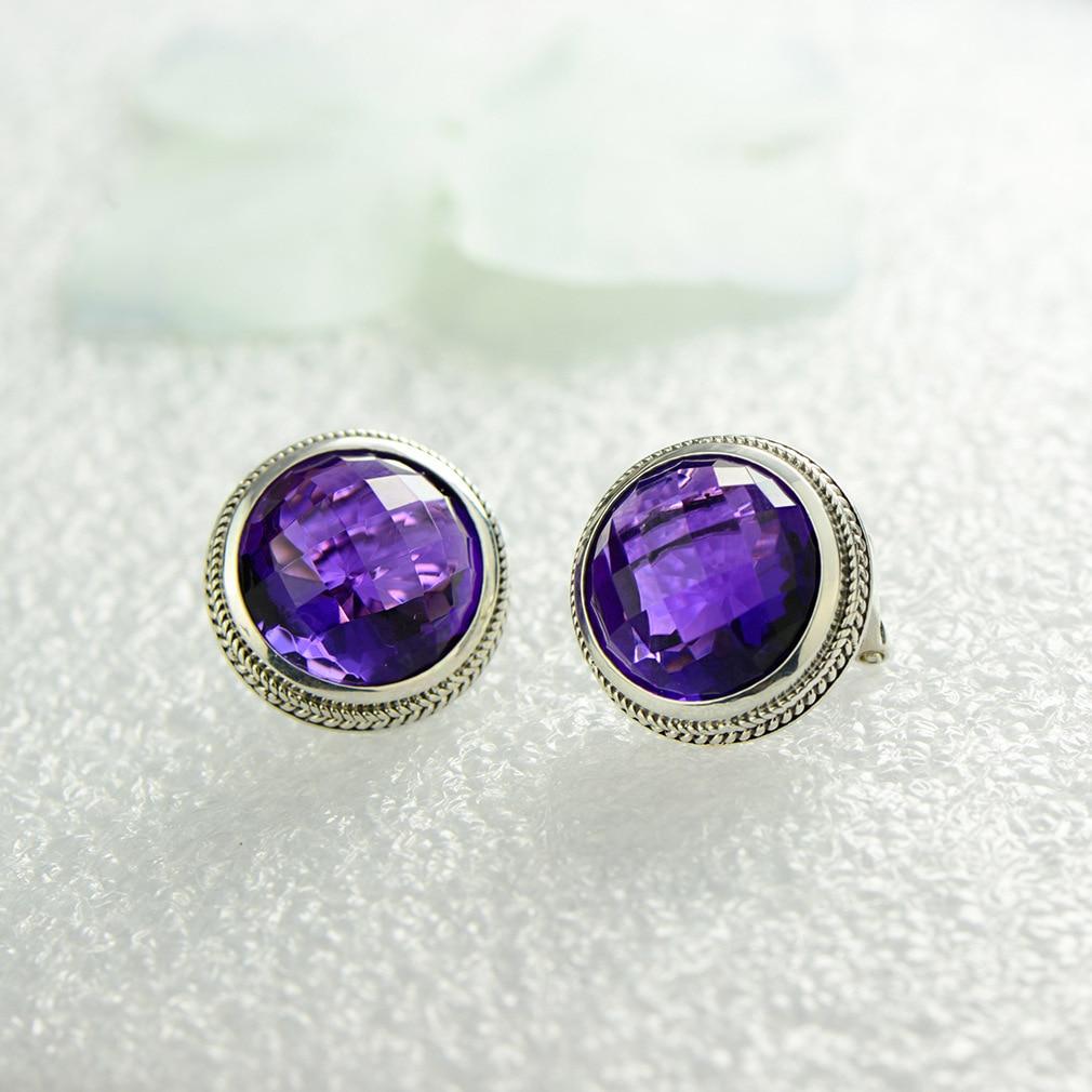 купить 2018 Earings Fashion Jewelry Twisted Wire Thai Earring Fashion Geometric Female Section Cut Crystal Ear Temperament Earrings недорого