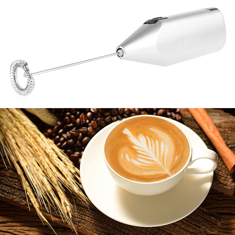 Kitchen Electric Handle Coffee Milk Beater Frother Cream Foa…