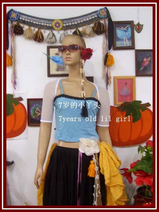 ①  Топ балета Прозрачный тонкий танец живота Йога балетный набор плечами с длинным рукавом с коротким р ✔
