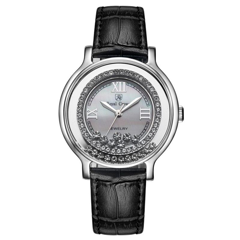 Royal Crown Jewelry Watch 3638L Italy brand Diamond Japan MI
