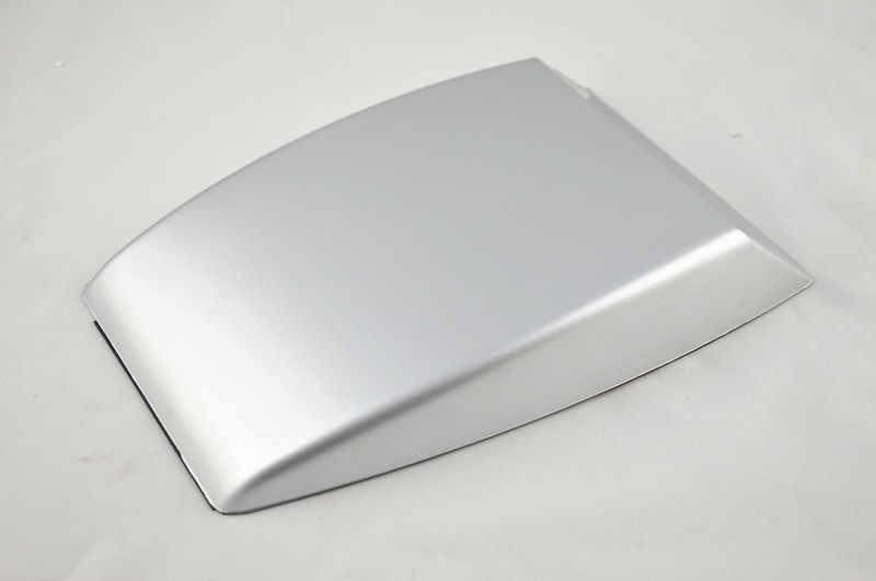 Mobil Styling Hitam/Putih/Perak Universal Mobil Dekoratif Aliran Udara Masuk Sendok Turbo Bonnet Vent Cover Hood Menghias
