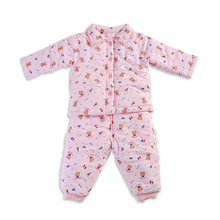 6-36 Months Baby Boys Girls Outerwear Clothing Set Outfit Winter Clothes Set with Printing in Cotton
