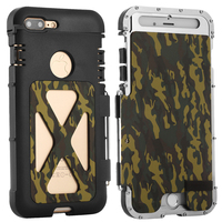 Luxury Doom Armor Dirt Shock Life Metal Aluminum Cell Phone Case For IPhone 7 4 7