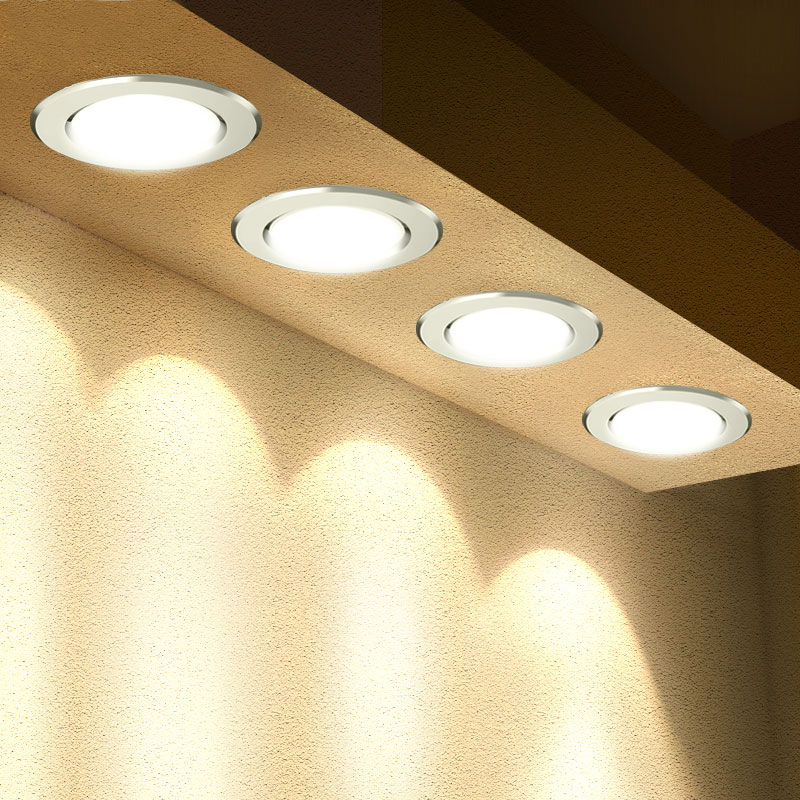 LED Downlight 3W 5W 7W 9W 12W 15W 18W Round Recessed Lamp 220V 230V 240V Led Bulb Bedroom Kitchen Indoor LED Spot Lighting image