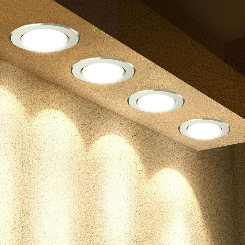 Led typu downlight 3W 5W 7W 9W 12W 15W 18W okrągłe wpuszczone lampy 220V 230V 240V Led żarówka sypialnia kuchnia kryty oświetlenie punktowe Led