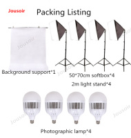 Studio kit large LED photographic lamp softbox apparel model to fill the light photo prop equipment CD50 T03