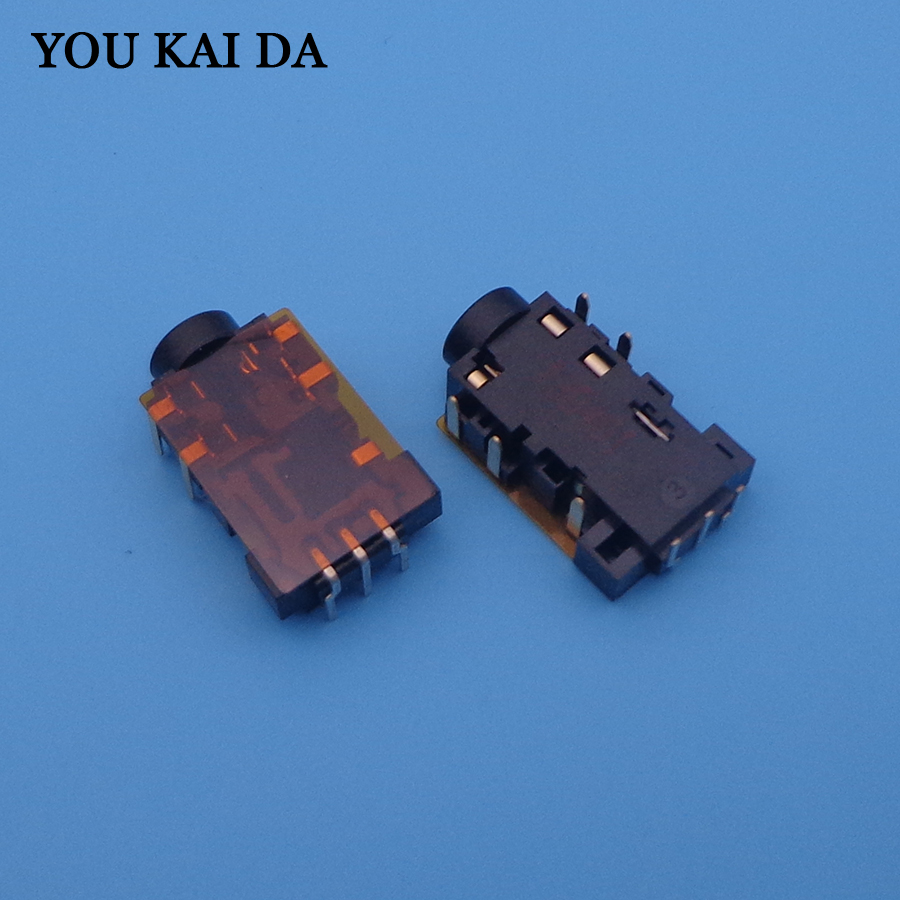 1pcs 3.5mm Audio Jack 3.5 Port For Acer Aspire 2930 3935 4810 4830 N55SF N55SL G75 8Pin Headphone Microphone Socket CONNECTOR